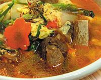 国産厳選骨付きカルビを使った伝統の味 カルビクッパ